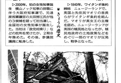 1595(昭和34)年2月6日朝刊掲載、深浦町円覚寺の薬師堂内厨子(ずし)修復へ